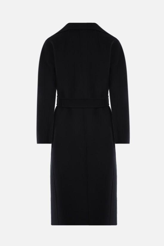 'S MAX MARA: Aria wool wrap coat Color Black_2