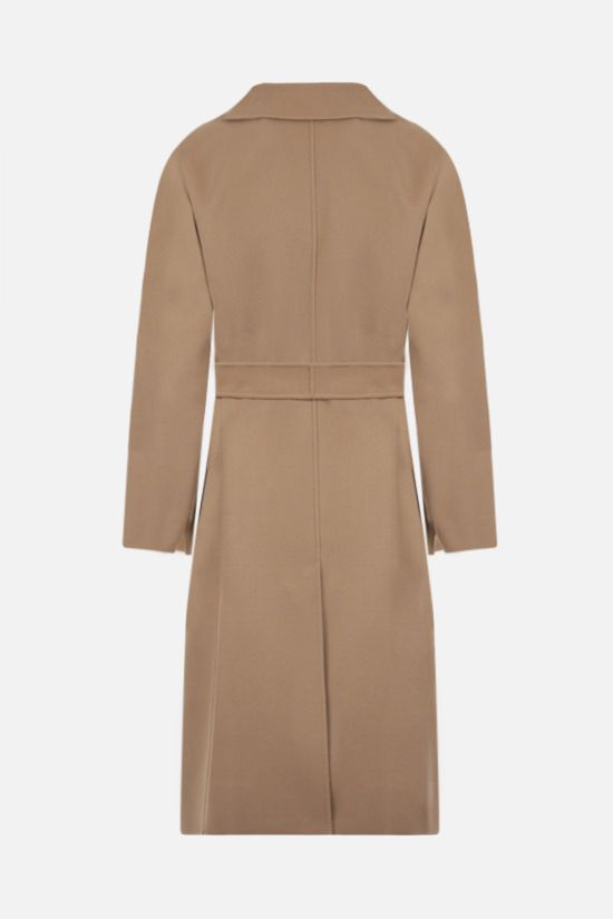 'S MAX MARA: Pauline wool wrap coat Color Brown_2