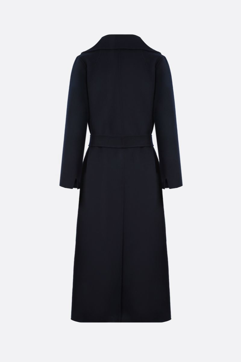 'S MAX MARA: Poldo wool wrap coat Color Blue_2