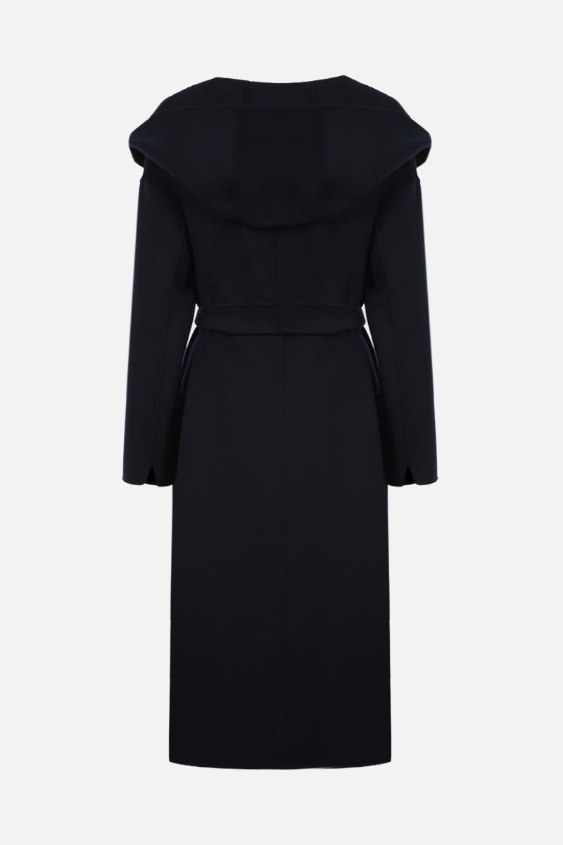 'S MAX MARA: Nicolo wrap wool coat Color Blue_2
