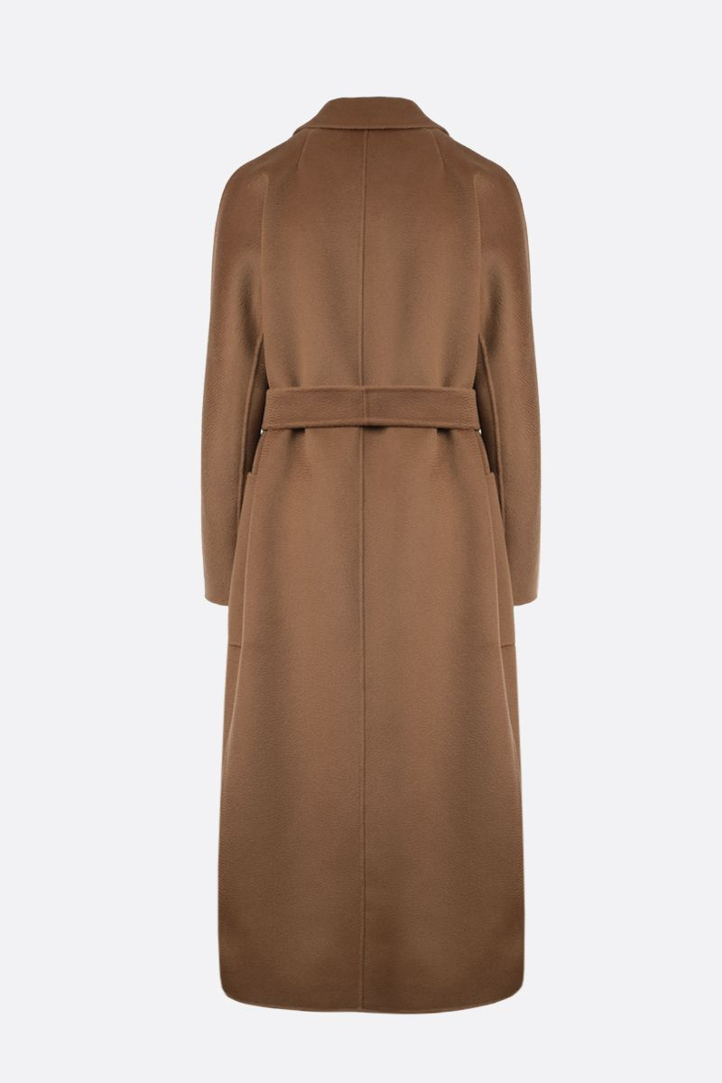 'S MAX MARA: Amore wool cashmere blend wrap coat Color Neutral_2