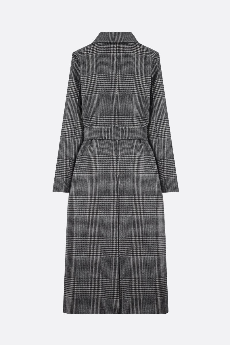 'S MAX MARA: Fiorito pure new wool wrap coat Color Black_2