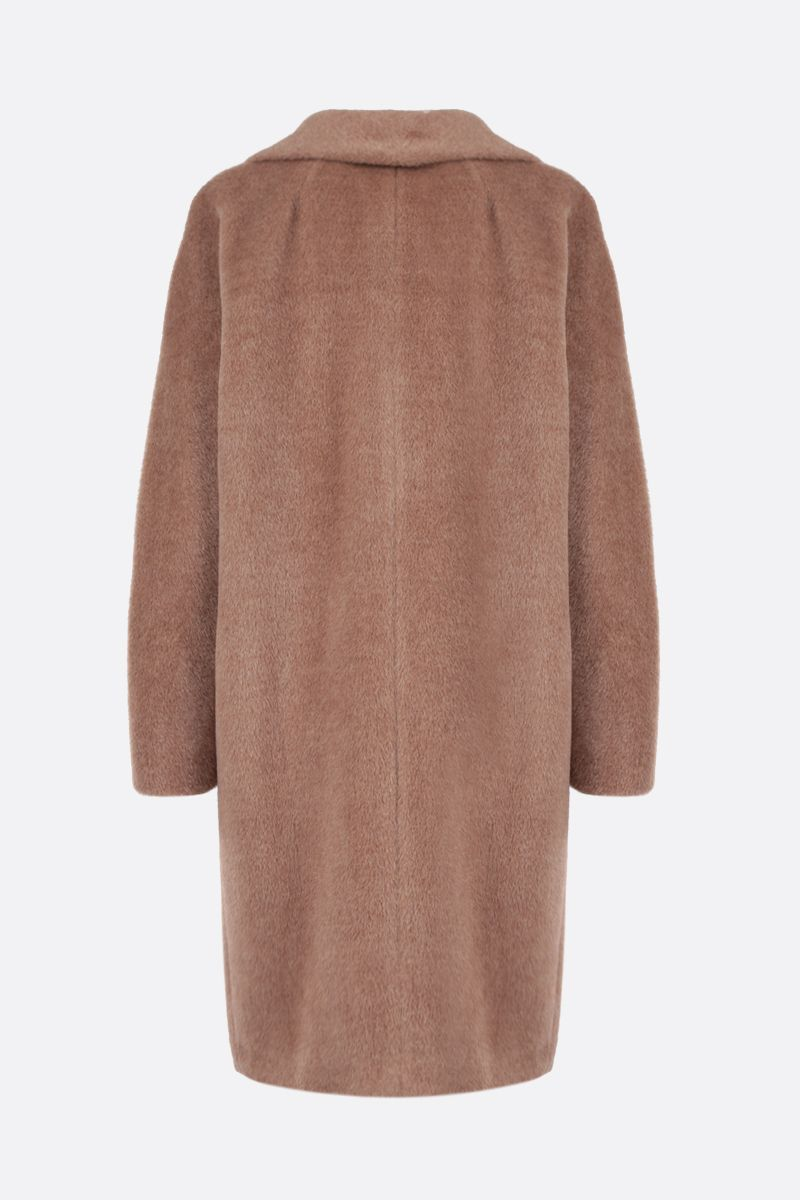 'S MAX MARA: Locri double-breasted alpaca wool blend coat Color Neutral_2