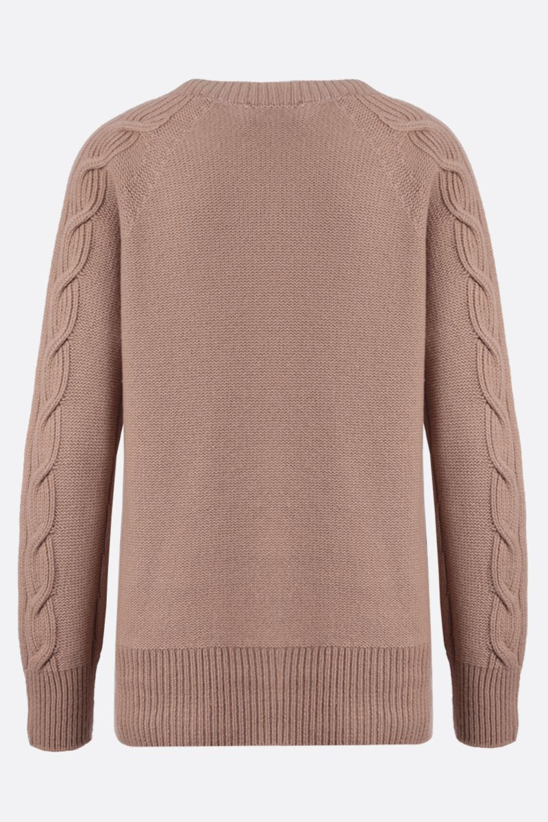 'S MAX MARA: Como cashmere pullover Color Neutral_2