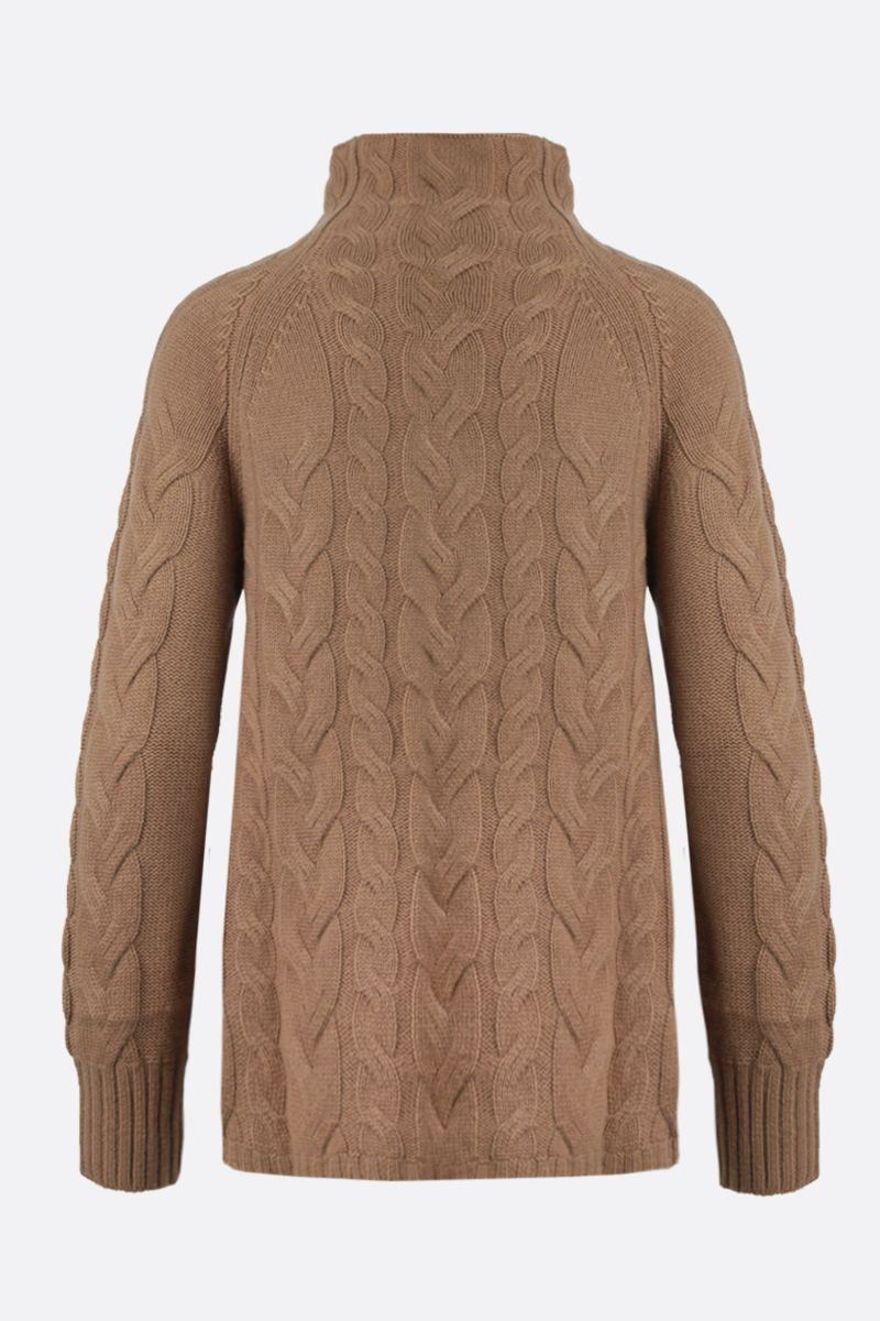 'S MAX MARA: Hazel wool cashmere blend pullover Color Neutral_2