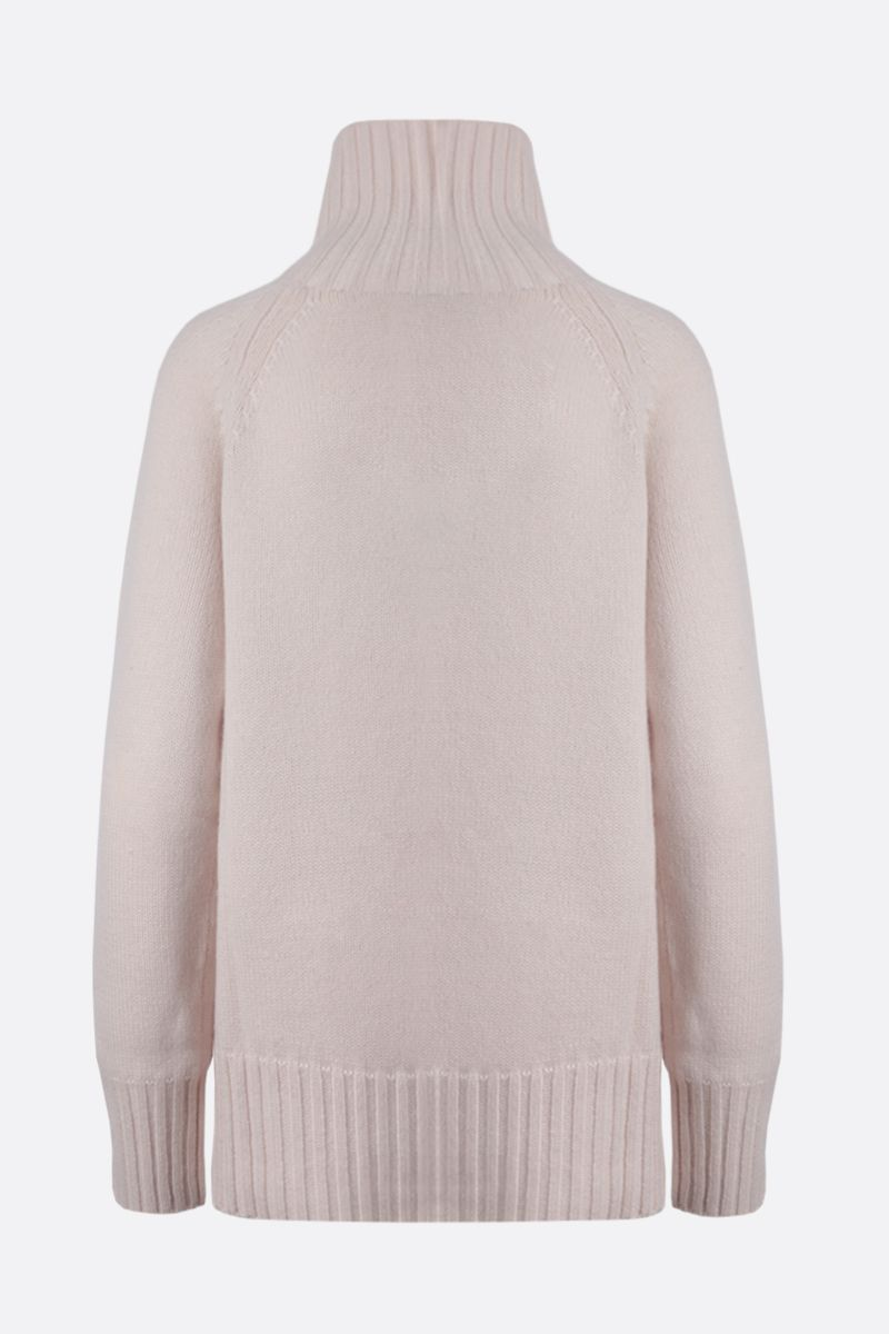 'S MAX MARA: Mantova wool cashmere blend turtleneck_2
