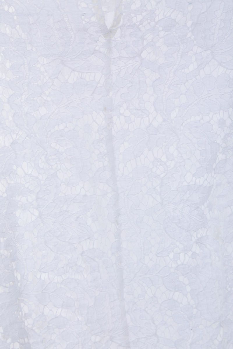 ISABEL MARANT: Tory floral lace blouse Color White_5