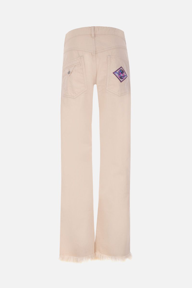 ISABEL MARANT: Elvira straigh-fit jeans Color Neutral_2