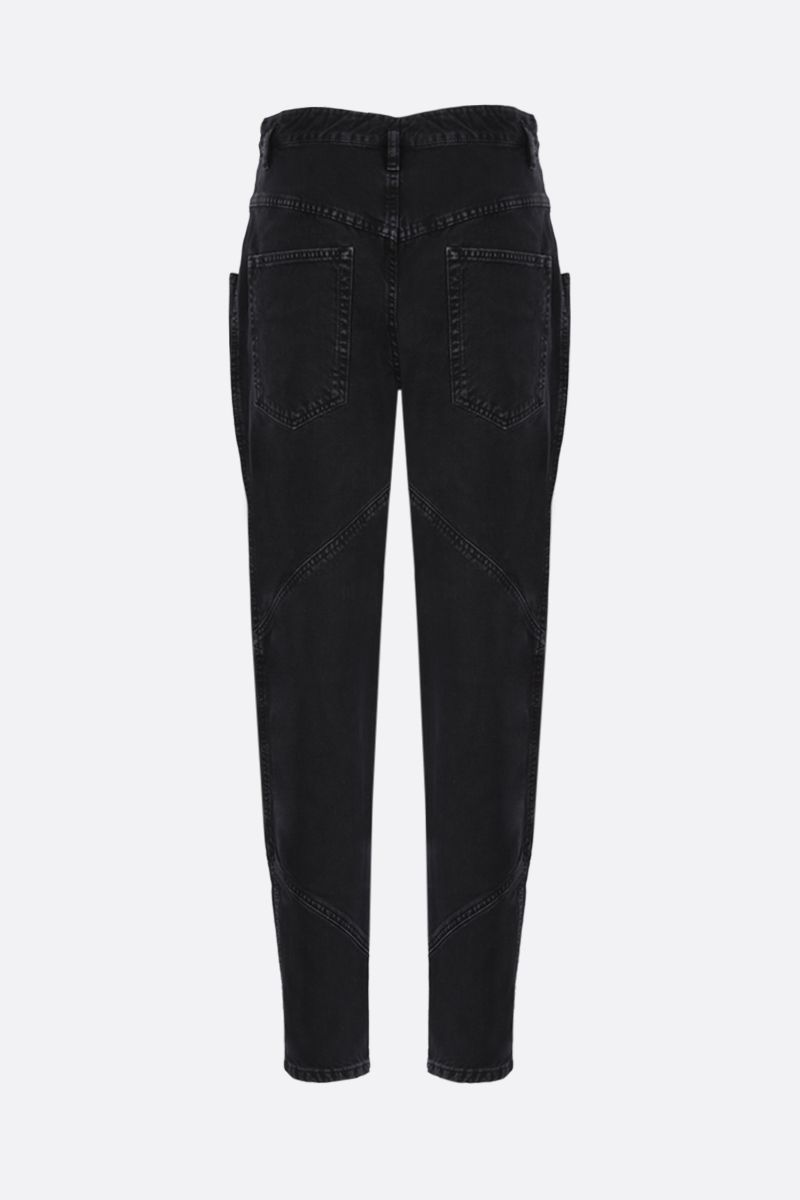 ISABEL MARANT: Nadeloisa high-waist jeans Color Grey_2