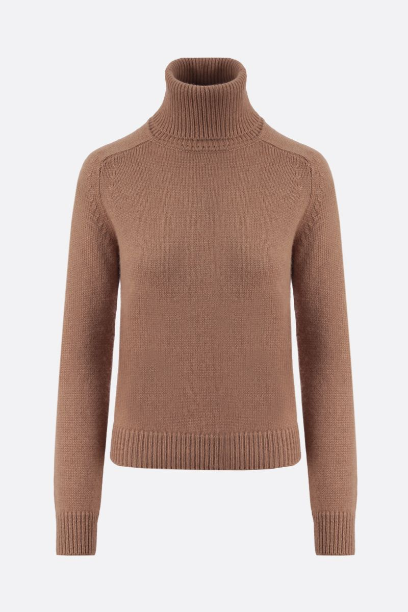 SAINT LAURENT: wool turtleneck Color Neutral_1