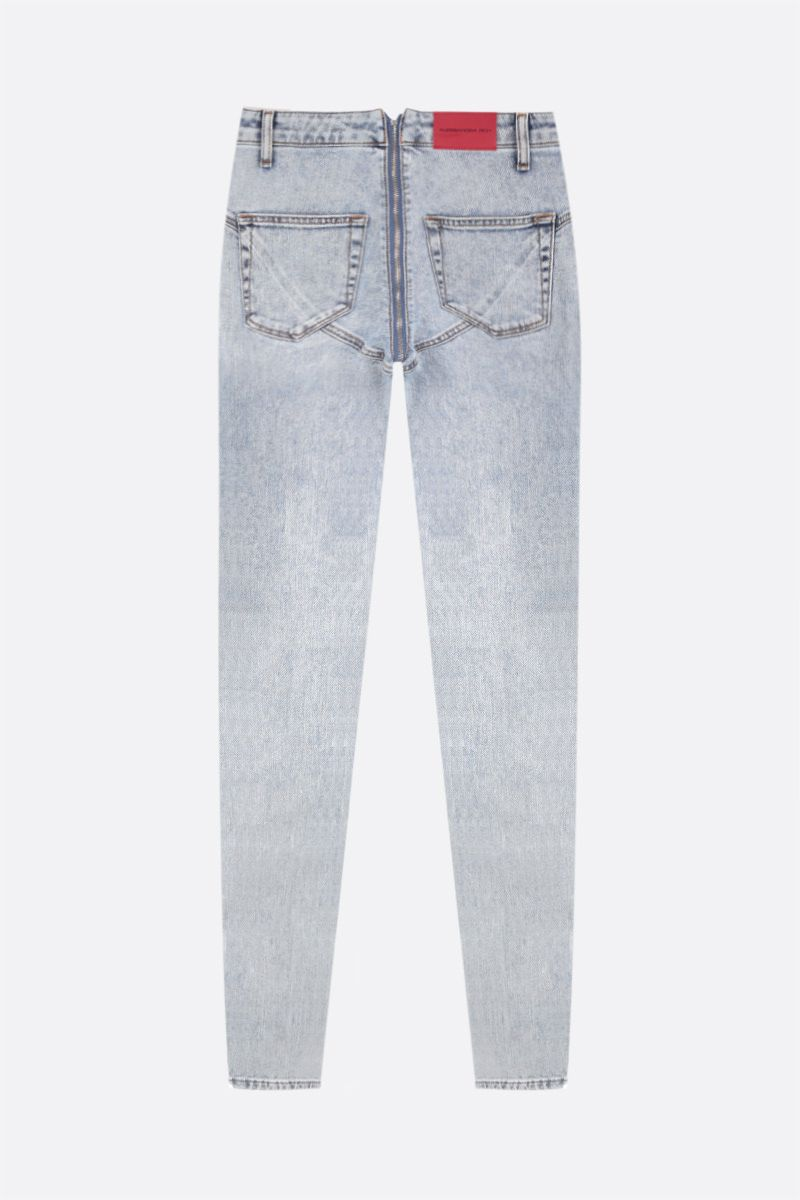 ALESSANDRA RICH: skinny-fit jeans Color Blue_2