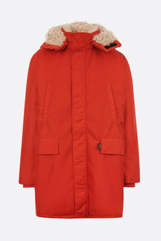 NAPA by MARTINE ROSE: A-Saimaa padded jacket in Cordura® fabric Color Red_1