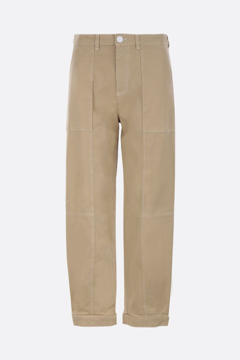 SEE BY CHLOÈ: pantalone cargo in cotone stretch_1