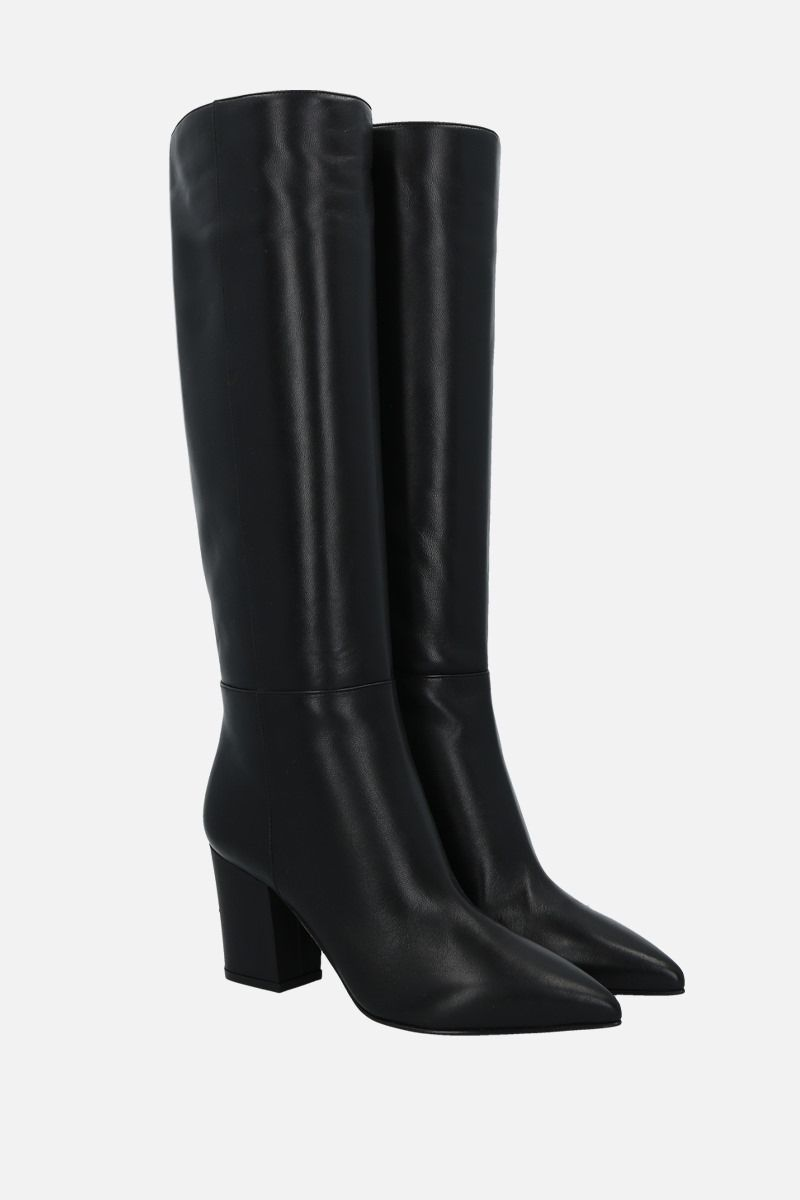 SERGIO ROSSI: Sergio soft nappa boots Color Black_2