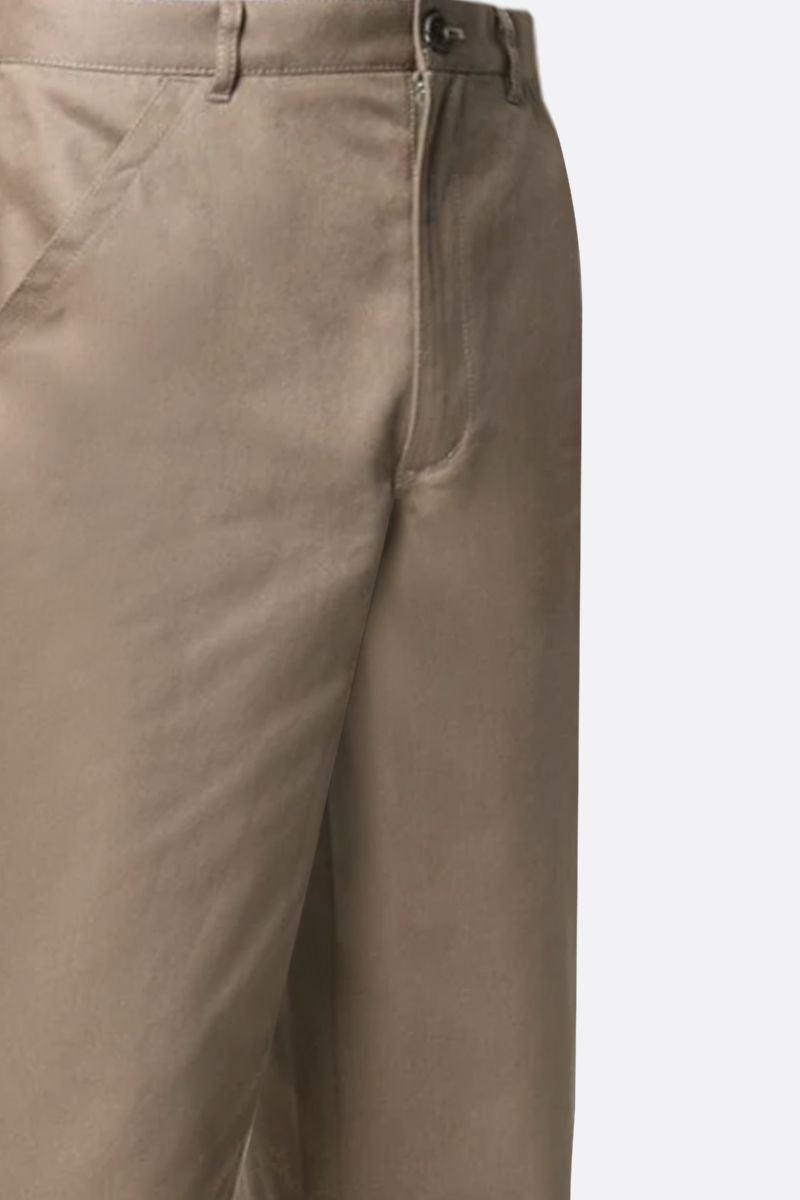 COMME des GARCONS SHIRT: cotton straight-fit pants Color Neutral_2