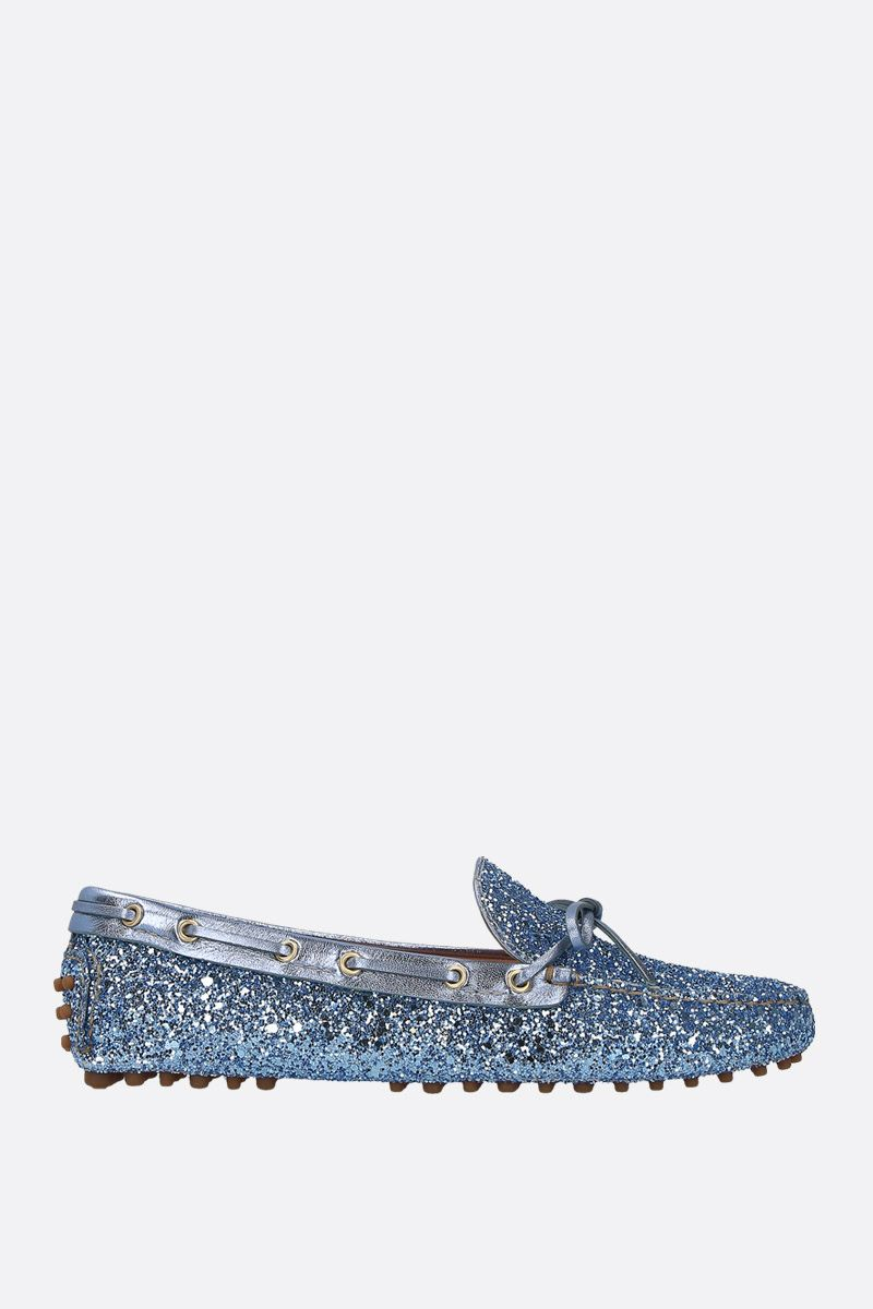 CAR SHOE: mocassino driving in tessuto glitter Colore Multicolore_1