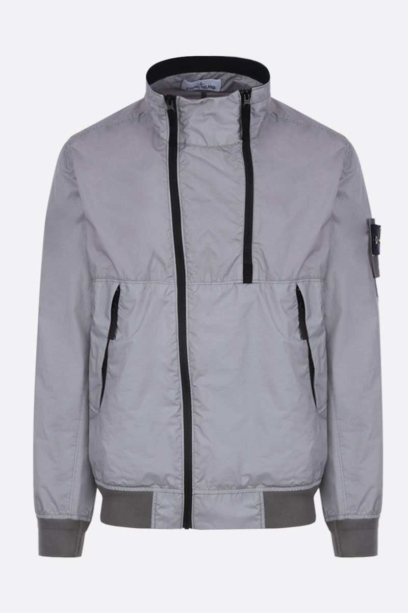STONE ISLAND: Membrana 3L TC fabric bomber jacket Color Grey_1