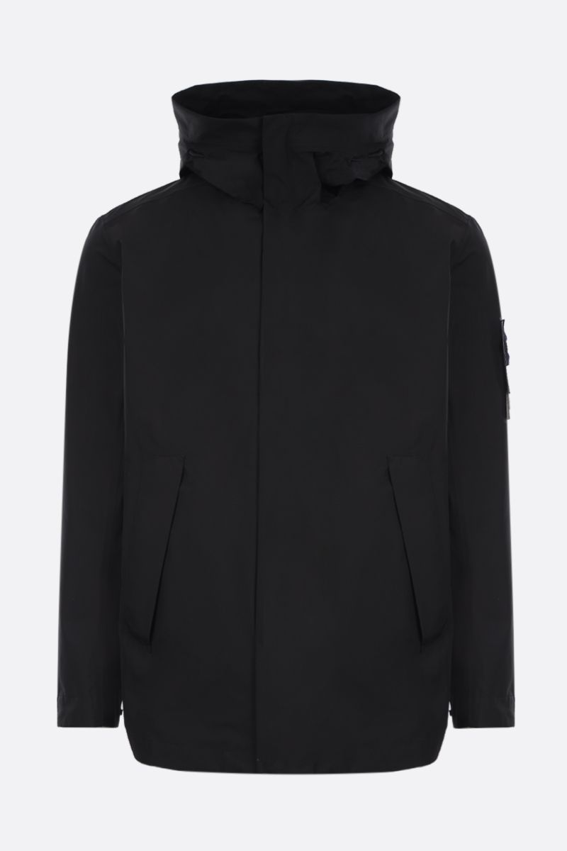 STONE ISLAND: Gore-Tex fabric windbreaker Color Black_1
