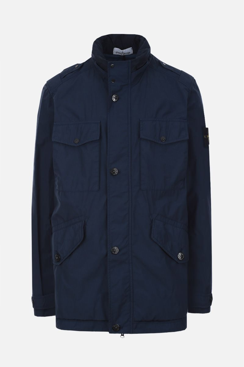 STONE ISLAND: Naslan Light Watro fabric jacket Color Blue_1