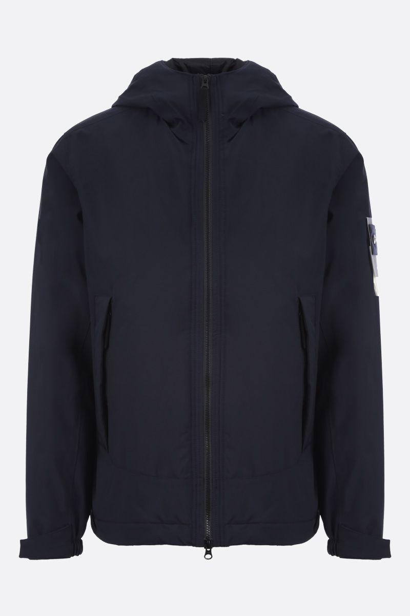 STONE ISLAND: Soft Shell-R fabric padded jacket Color Blue_1