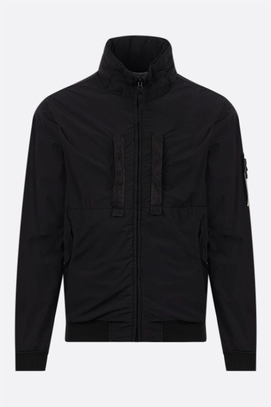 STONE ISLAND: Skin Touch Nylon-TC padded jacket Color Black_1