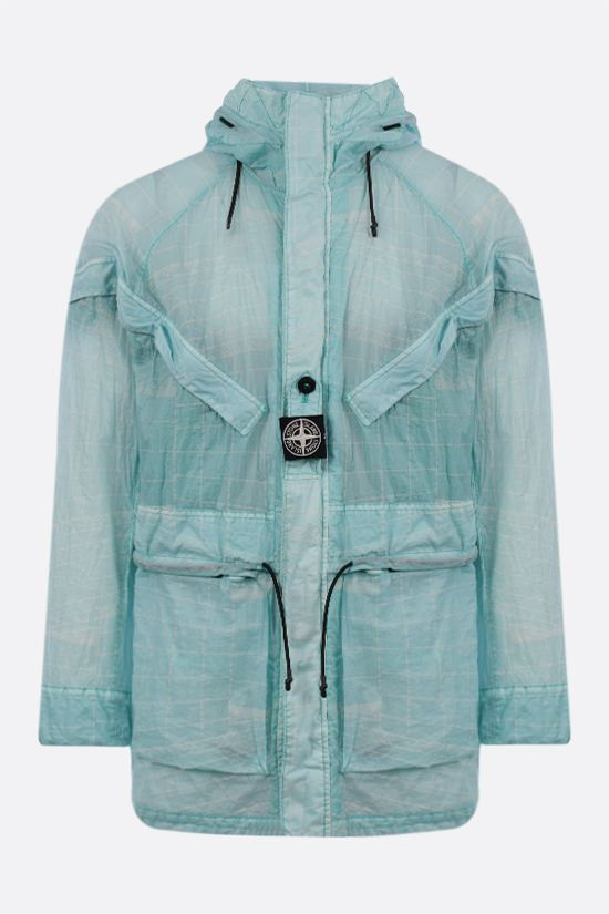 STONE ISLAND: Lamy-TC fabric windbreaker Color Blue_1