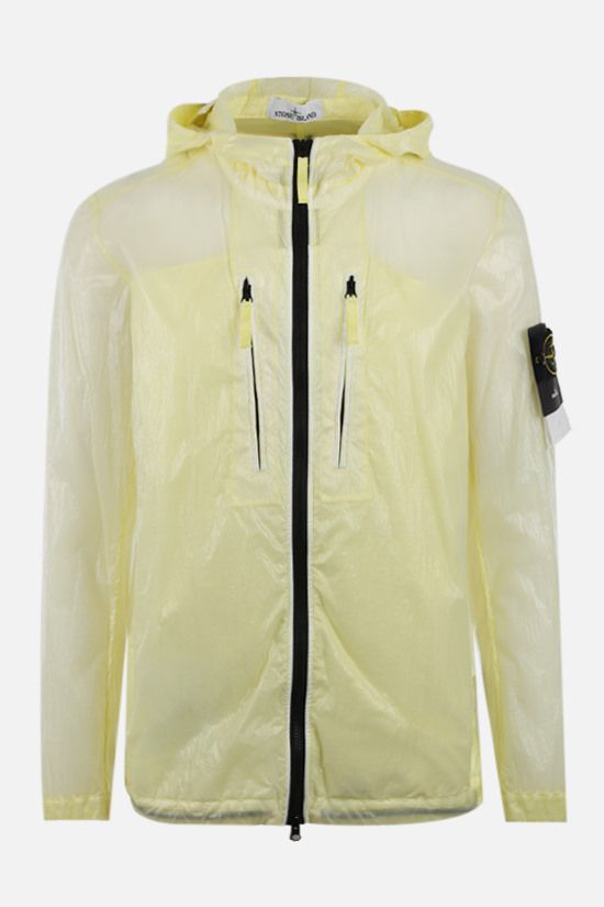 STONE ISLAND: Lucido-TC fabric windbreaker Color Yellow_1