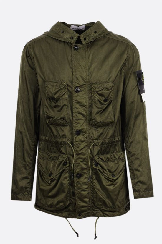 STONE ISLAND: Nylon Raso-TC windbreaker Color Green_1