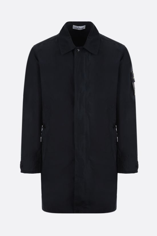 STONE ISLAND: Micro Reps fabric trench coat Color Blue_1