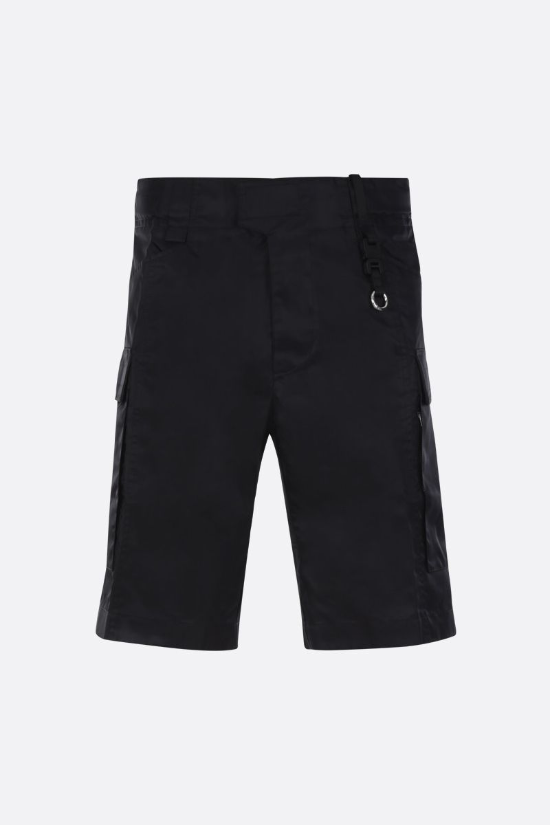 1017 ALYX 9SM: Rollercoaster-detailed nylon cargo shorts Color Black_1