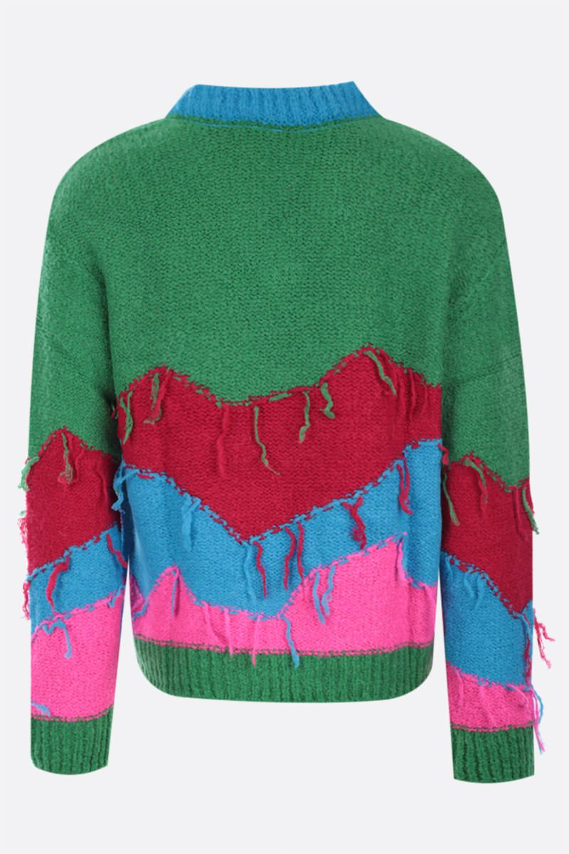ANDERSSON BELL: pullover Mountain in misto lana Colore Green_2