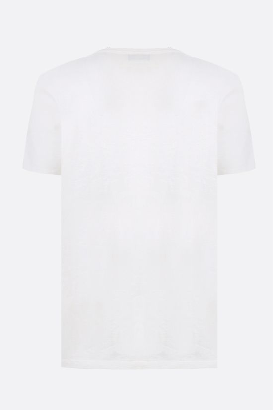 MAISON KITSUNÈ: Parisien cotton t-shirt Color Multicolor_2