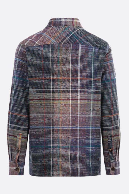 MISSONI: wool cotton blend overshirt Color Multicolor_2