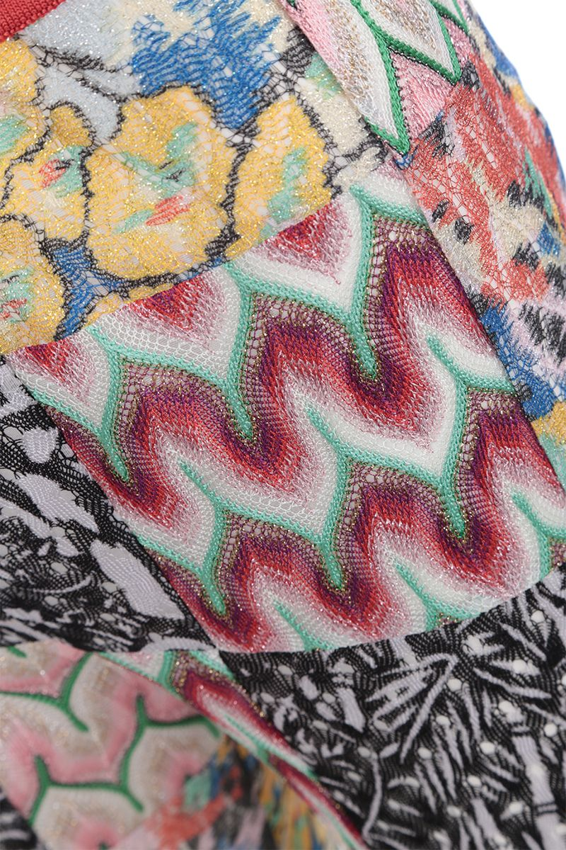 MISSONI: lightweight knit cropped pants Color Multicolor_3