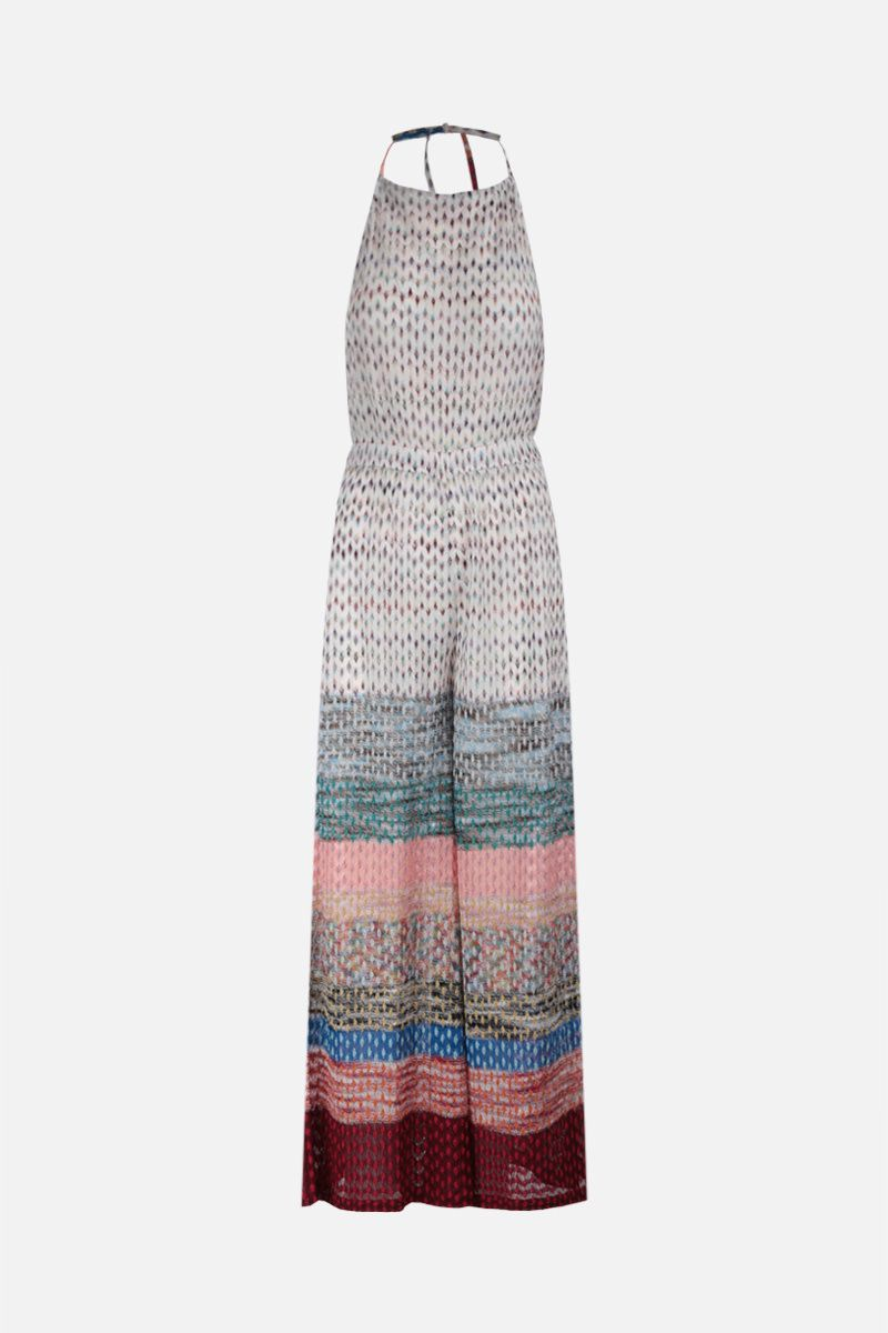 MISSONI: lurex lightweight jumpsuit Color Multicolor_1