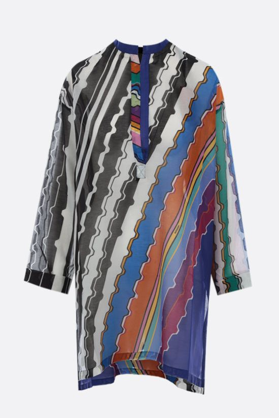 MISSONI: cotton voile beach robe Color Multicolor_1