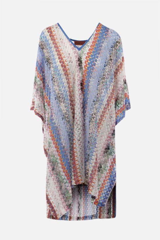MISSONI: graphic-motif lightweight knit caftan Color Multicolor_1