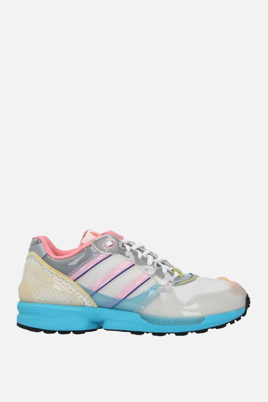 ADIDAS STATEMENT: XZ 0006 Inside Out sneakers in mesh and TPU Color Grey_1