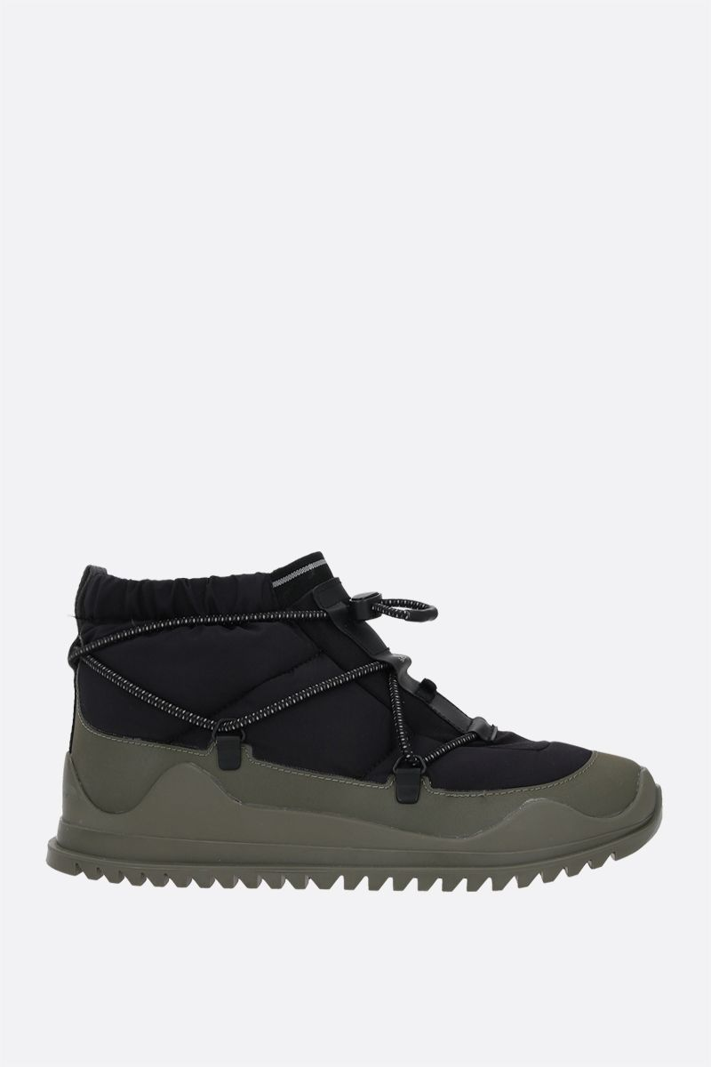 ADIDAS BY STELLA McCARTNEY: adidas by Stella McCartney ankle boots in Primeblue fabric Color Black_1