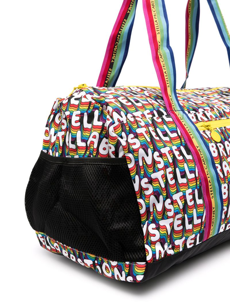 STELLA McCARTNEY KIDS: Stellabration nylon weekend bag Color Multicolor_2