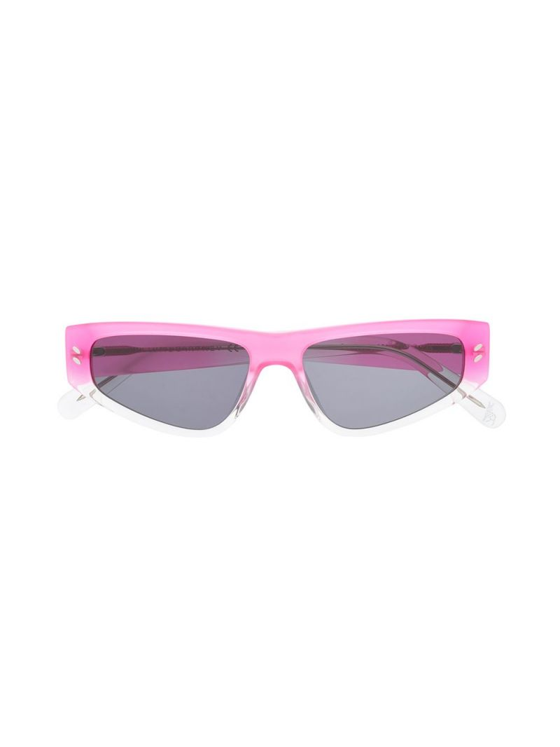 STELLA McCARTNEY KIDS: acetate cat-eye sunglasses Color Multicolor_1