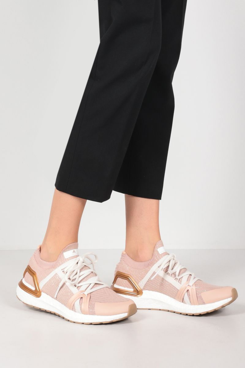 ADIDAS BY STELLA McCARTNEY: Ultraboost 20 sneakers in Primeblue fabric Color Pink_2