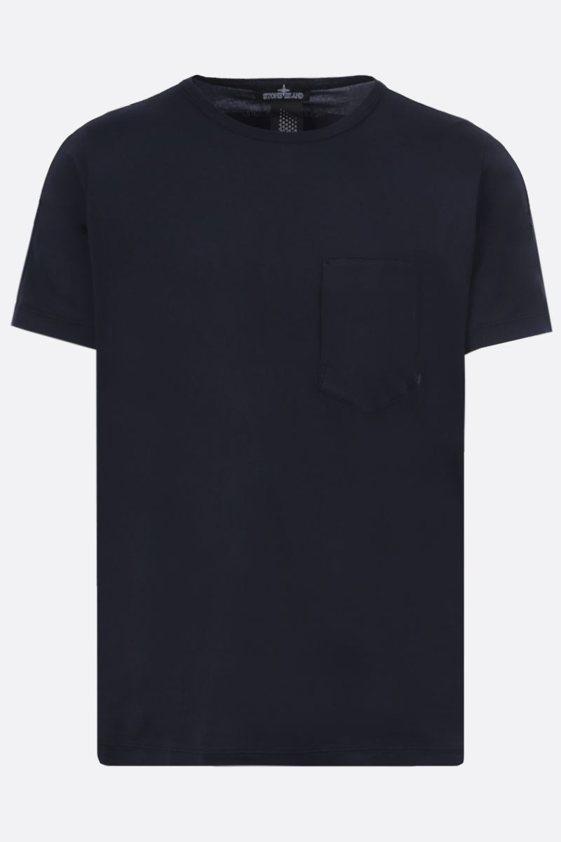 STONE ISLAND SHADOW PROJECT: graphic print cotton t-shirt Color Blue_1
