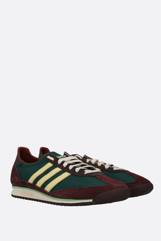 ADIDAS STATEMENT: Wales Bonner SL72 nylon and suede sneakers Color Multicolor_2