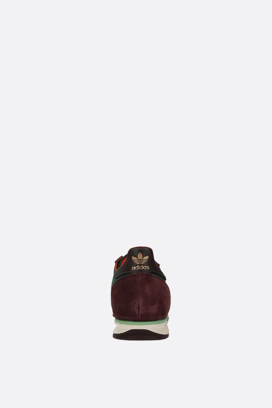 ADIDAS STATEMENT: Wales Bonner SL72 nylon and suede sneakers Color Multicolor_3