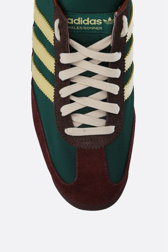 ADIDAS STATEMENT: Wales Bonner SL72 nylon and suede sneakers Color Multicolor_4