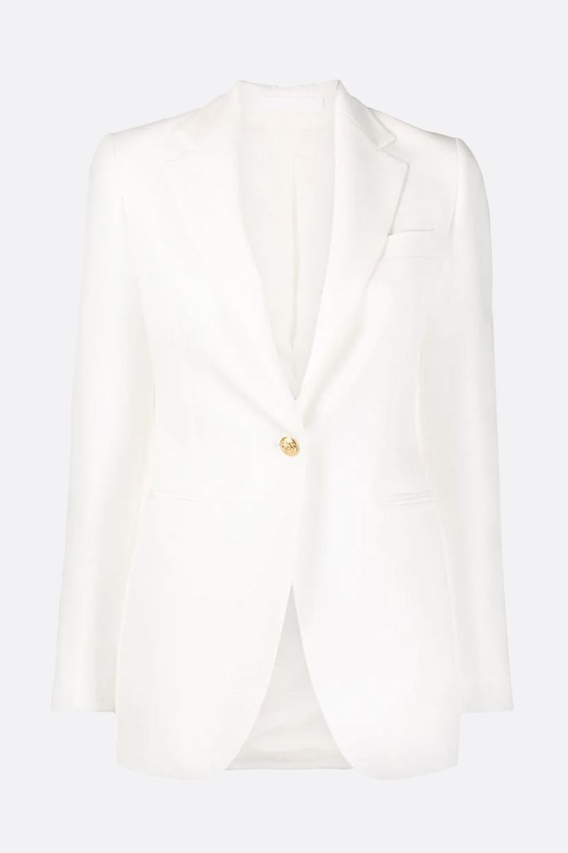 TAGLIATORE: Tabby cady two-piece suit Color White_2