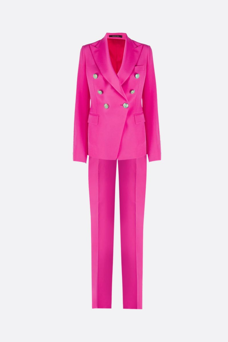 TAGLIATORE: Talicya cady two-piece suit Color Pink_1