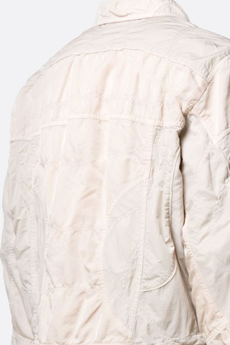 OFF WHITE: OFF print nylon jacket Color Neutral_2