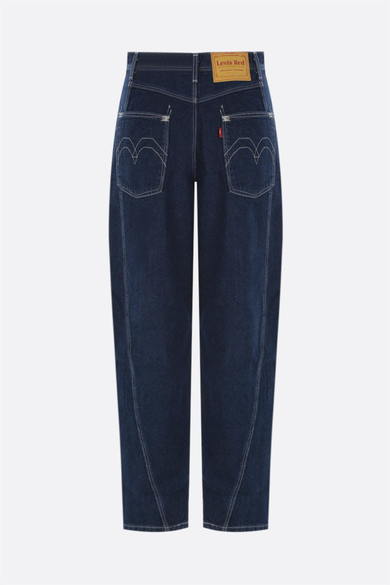LEVI'S MADE & CRAFTED: Levi's® Red twisted loose jeans Color Blue_2